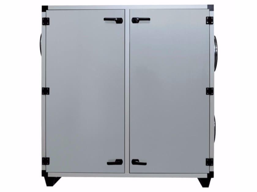 Scambiatore d'aria a flussi incrociati per recupero calore VORT - NRG 6000 V CONF.A,B by Vortice