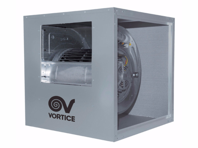 Mechanical forced ventilation system VORT QBK 12/12 6T 1V IP20 by Vortice