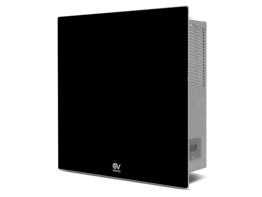 Sistema di ventilazione con pompa di calore VORT VDH 60 HP MONO B - NERO by Vortice