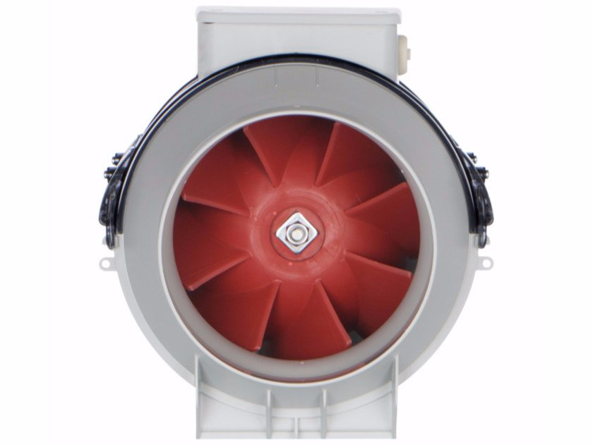 Mixed flow in line duct fan with timer VORTICE LINEO 100 T V0 by Vortice