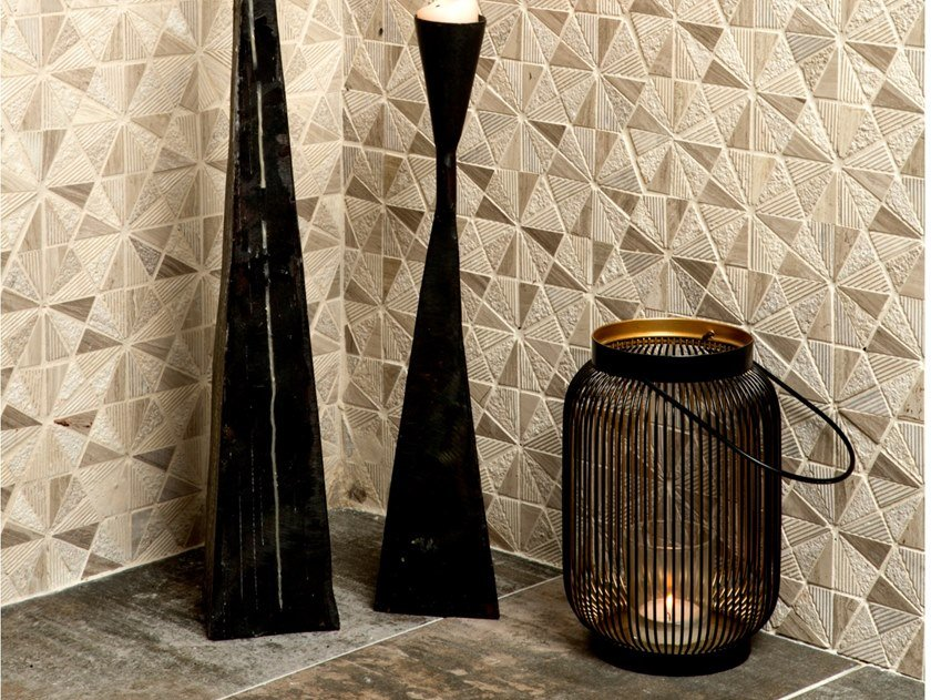 Mosaico in marmo VOSGES by Mat Inter