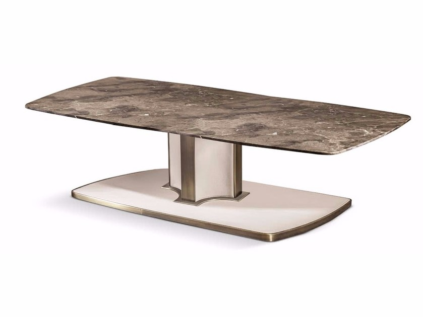 Rectangular Marble Coffee Table VOYAGE | Rectangular Coffee Table By Cantori