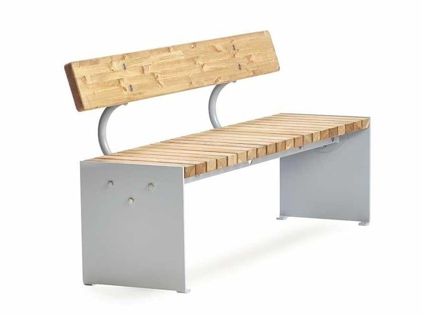 VROOM | Panchina con schienale