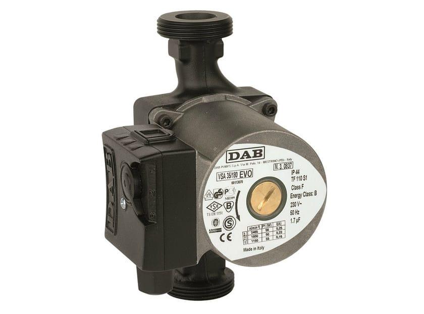 Wet rotor circulators VSA by Dab Pumps