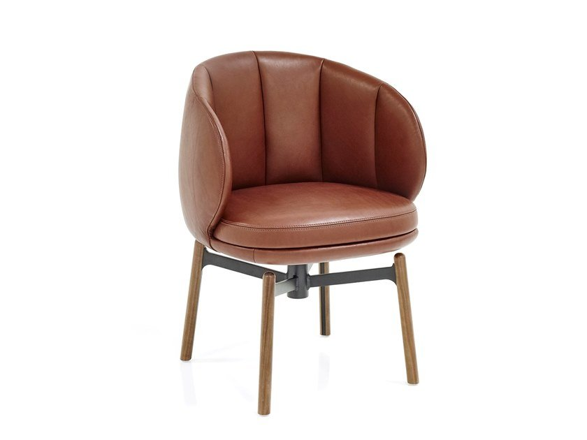 Swivel upholstered chair VUELTA FD | Swivel chair by Wittmann