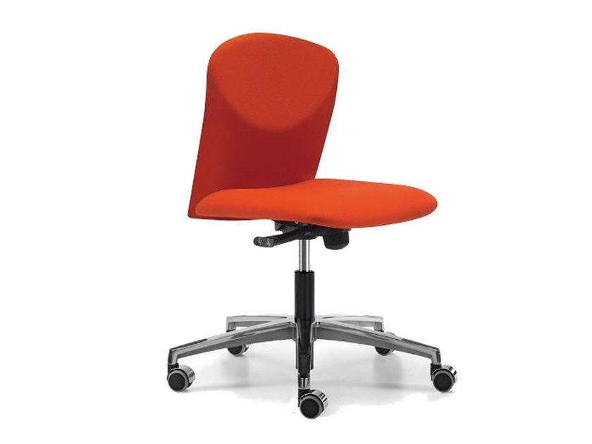 Fabric task chair with 5-Spoke base with casters VULCAN 1300 Z by TALIN