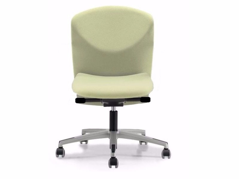 Fabric task chair with 5-Spoke base with casters VULCAN 1412 Z by TALIN