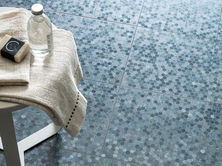 Porcelain stoneware wall/floor tiles VULCANIKA RAKU BLU by Provenza by Emilgroup