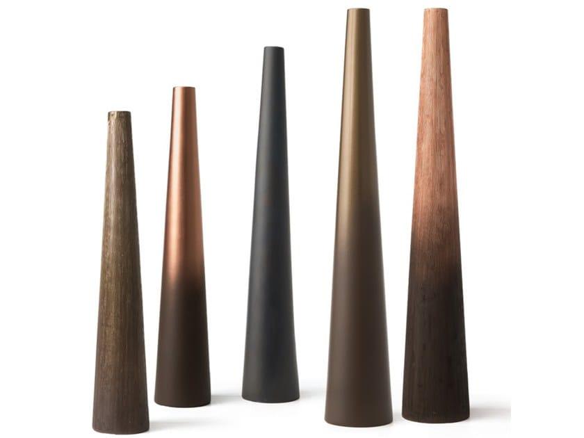 Ceramic vase VULCANO by Adriani e Rossi edizioni