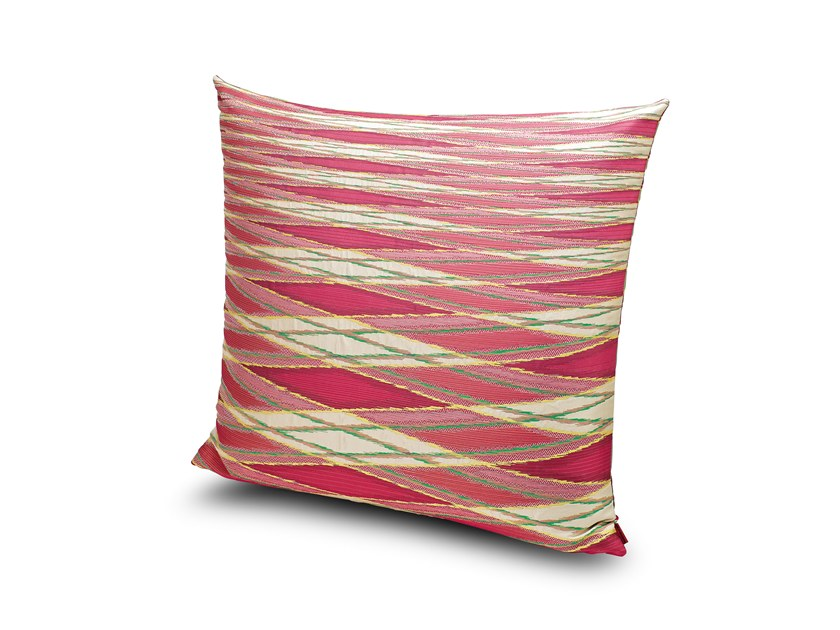 Square fabric cushion VULCANO | Cushion by MissoniHome