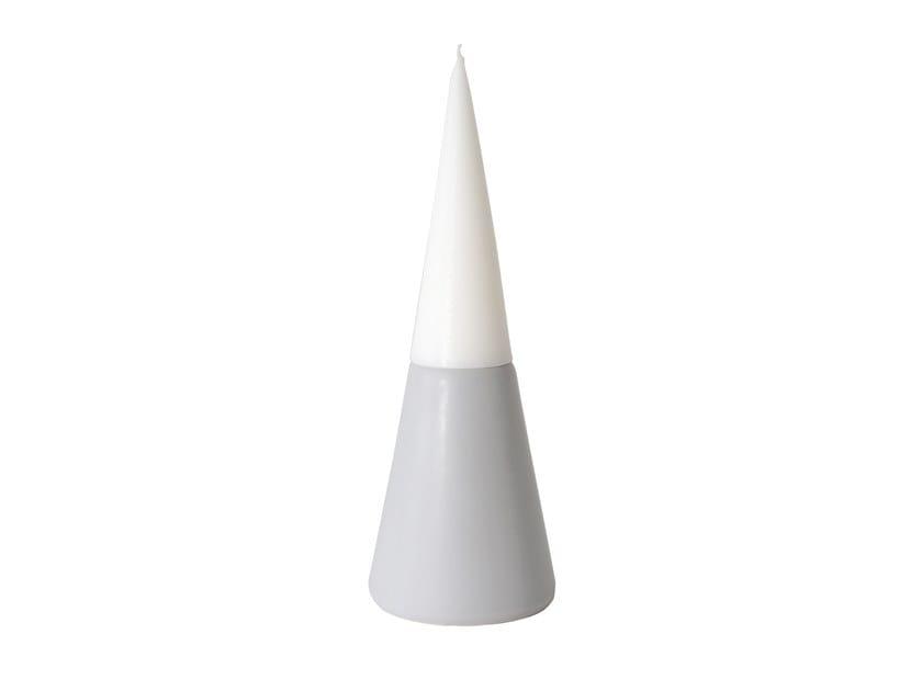 Ceramic candle holder VULCANO MEDIUM by UBIKUBI