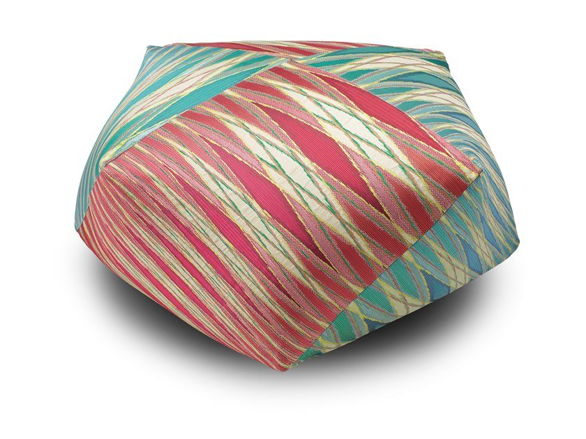 Fabric pouf VULCANO | Pouf by MissoniHome