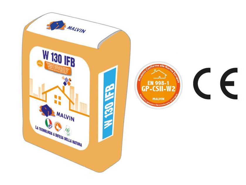 Fibre-reinforced special plaster W 130 IFB by malvin