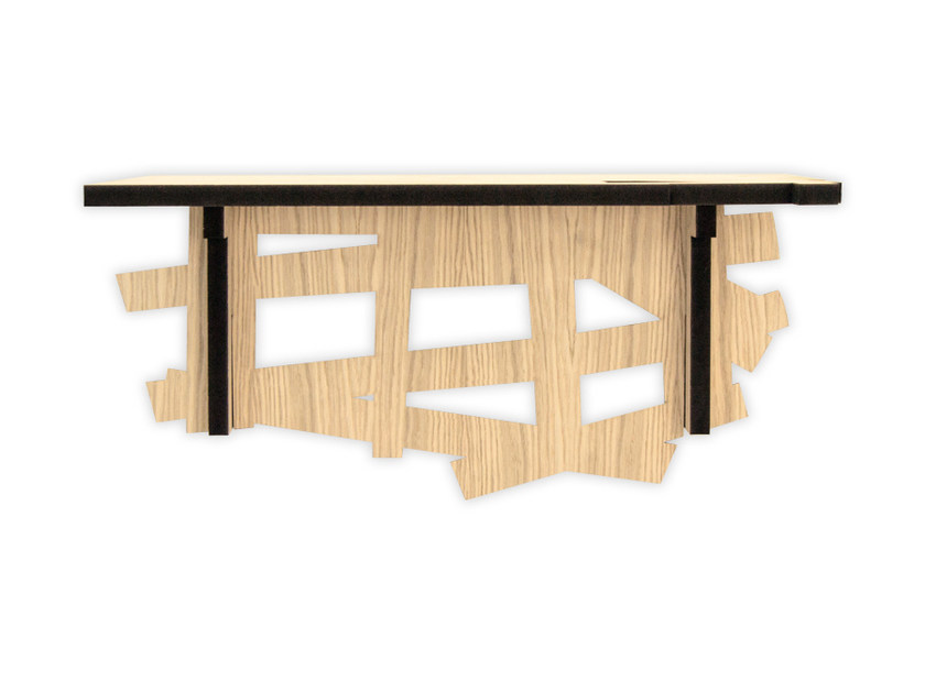 MDF console table W-383 | Console table by LAS