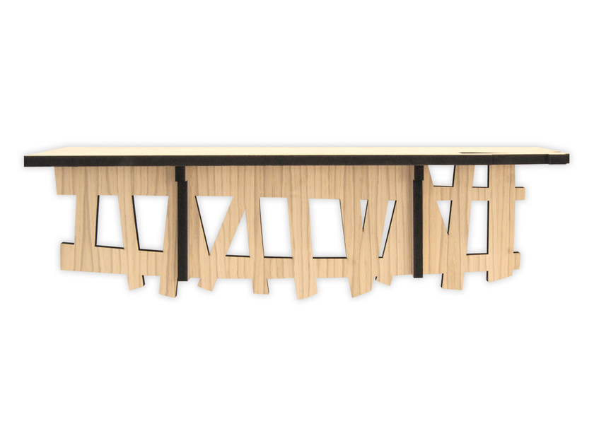 MDF console table W-384 | Console table by LAS