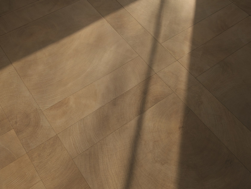 Porcelain stoneware wall/floor tiles with wood effect W-AGE HEARTWOOD by Provenza by Emilgroup