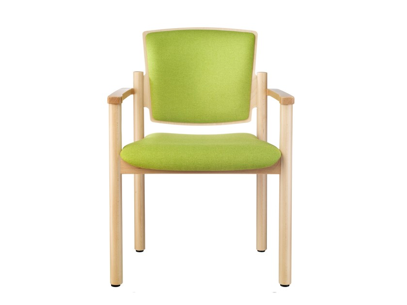 Fabric chair with armrests W4051   Chair with armrests by MSM