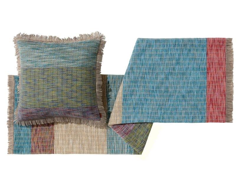 Jacquard wool throw WALDO by MissoniHome