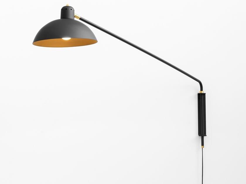 LED direct light wall lamp WALDORF LARGE by Lambert & Fils