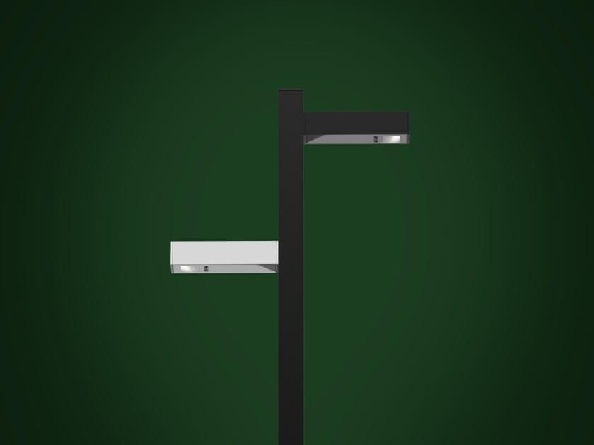 Aluminium bollard light WALKING | Bollard light by Artemide