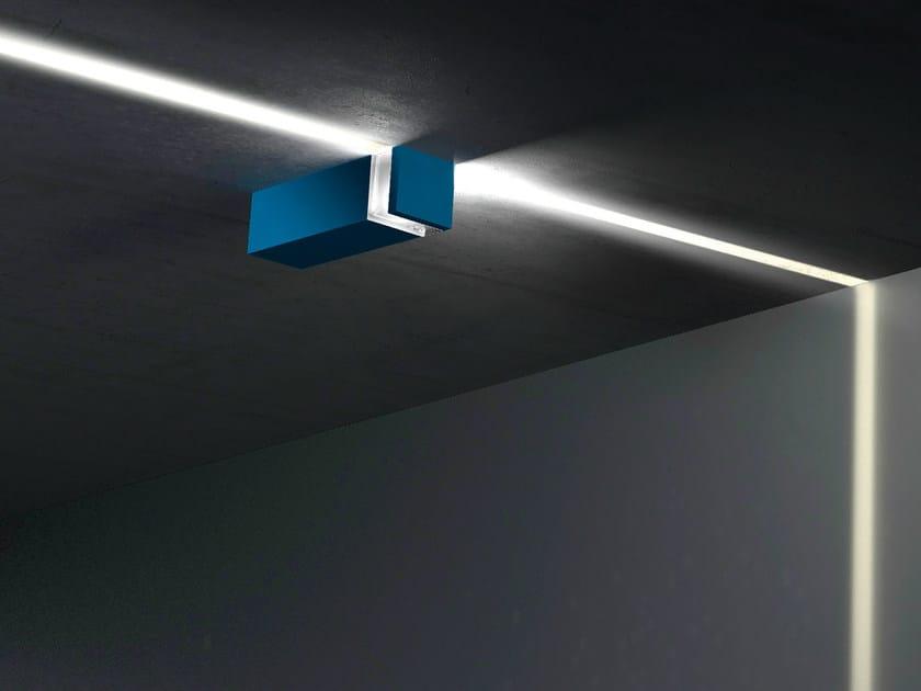 Aluminium wall lamp / ceiling lamp WALKING GRAPHIC by Artemide