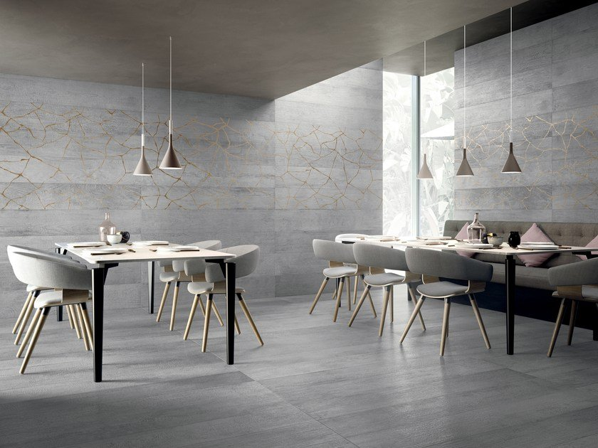 Porcelain stoneware wall/floor tiles with wood effect KASAI by Ceramiche Refin
