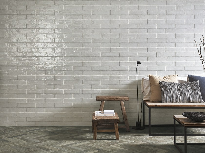Indoor porcelain stoneware wall tiles with brick effect BROOKLYN | Wall tiles by FAP ceramiche