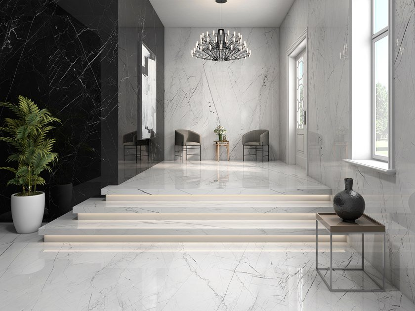 Sintered ceramic wall/floor tiles with marble effect PANDORA | Wall/floor tiles by ITT Ceramic