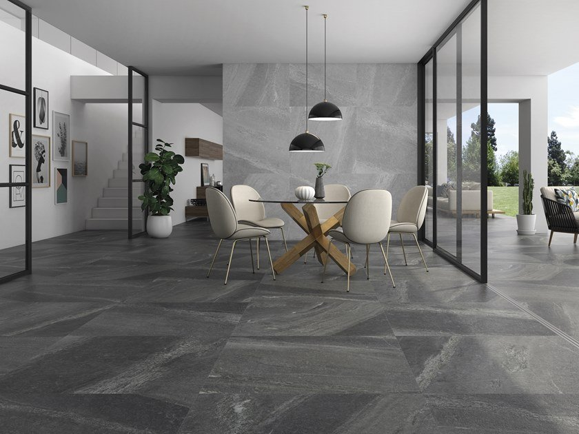 Porcelain stoneware wall/floor tiles with stone effect GEO | Wall/floor tiles by ITT Ceramic