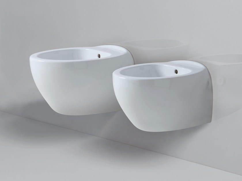 Wall-hung ceramic bidet CLAS+ | Wall-hung bidet by AZZURRA sanitari