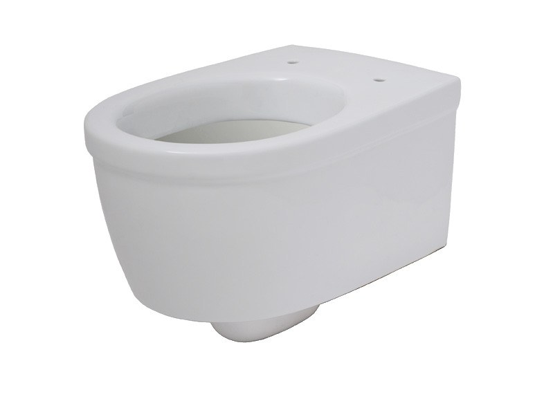 Wall-hung Vitreous China toilet EVERY 44   Wall-hung toilet by EVER Life Design
