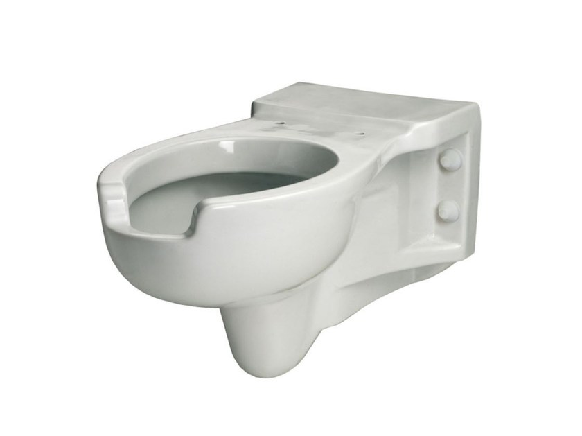 Wall-hung Vitreous China toilet for disabled UNIKA | Wall-hung toilet for disabled by Saniline
