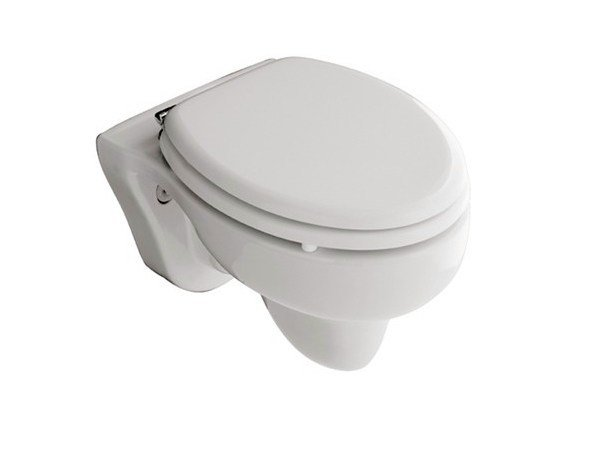 Wall-hung ceramic toilet for children Wall-hung toilet by GALASSIA