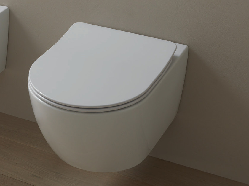 Wall-hung ceramic toilet LIKE   Wall-hung toilet by GSG Ceramic Design