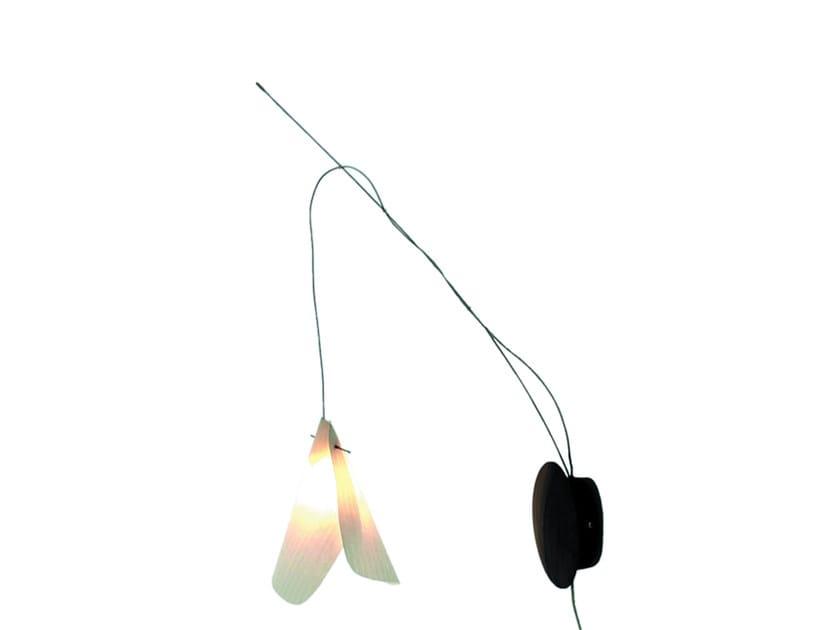 Direct light japanese paper wall lamp GINKO | Wall lamp by CFOC