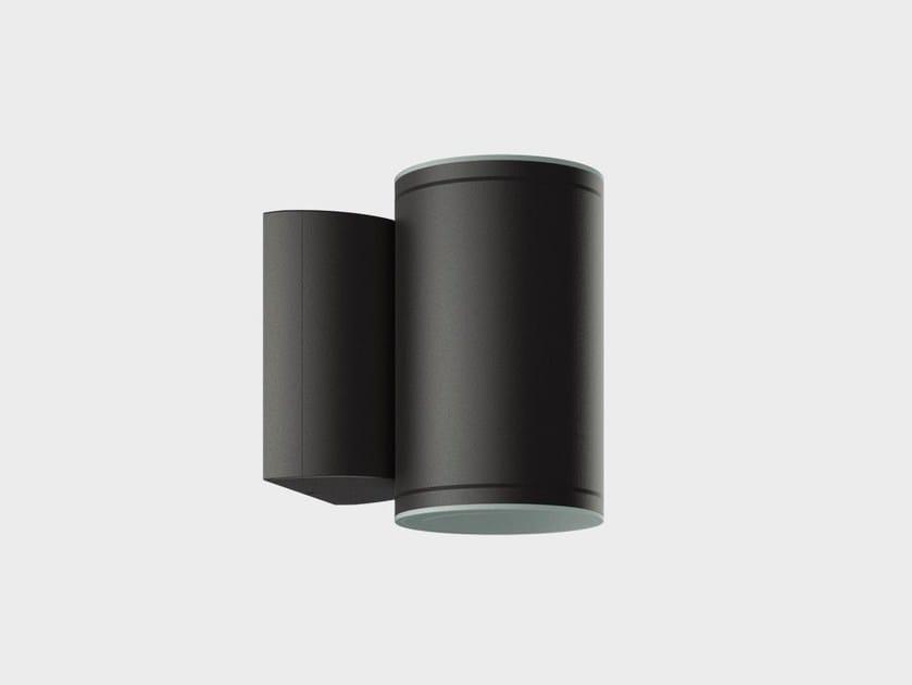 Lampada da parete a LED in alluminio ONE4TWO PARETE by Cariboni group