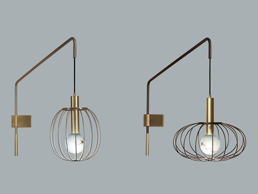 Lampada da parete a LED in metallo LIRA | Lampada da parete by Borzalino