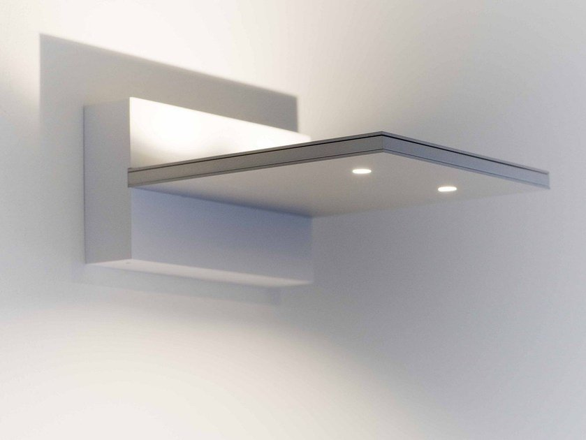 LED direct-indirect light aluminium wall lamp PIXEL | Wall lamp by FERROLIGHT DESIGN