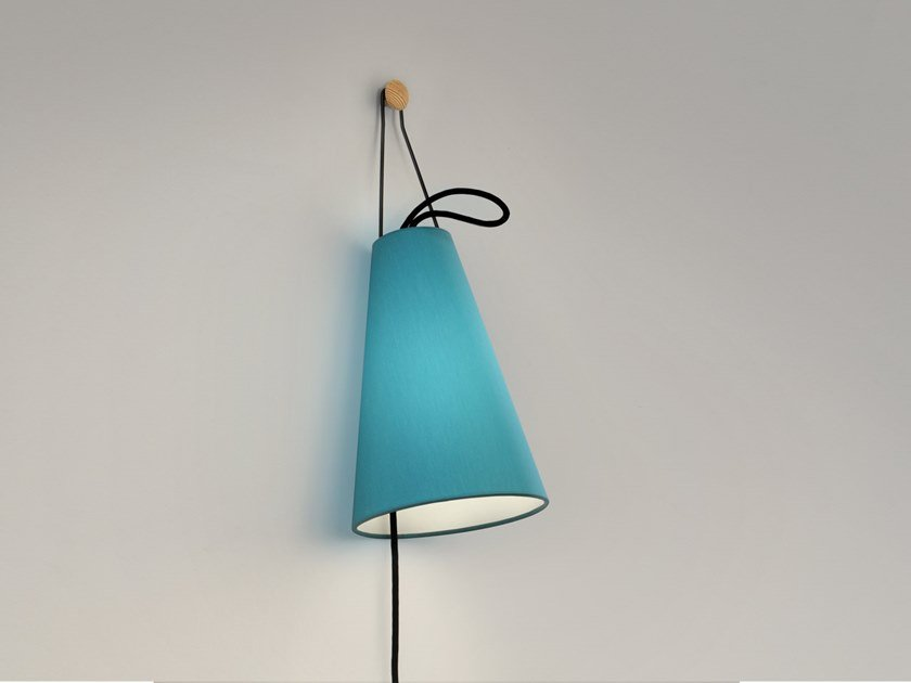 Fabric wall lamp MIA | Wall lamp by filumen
