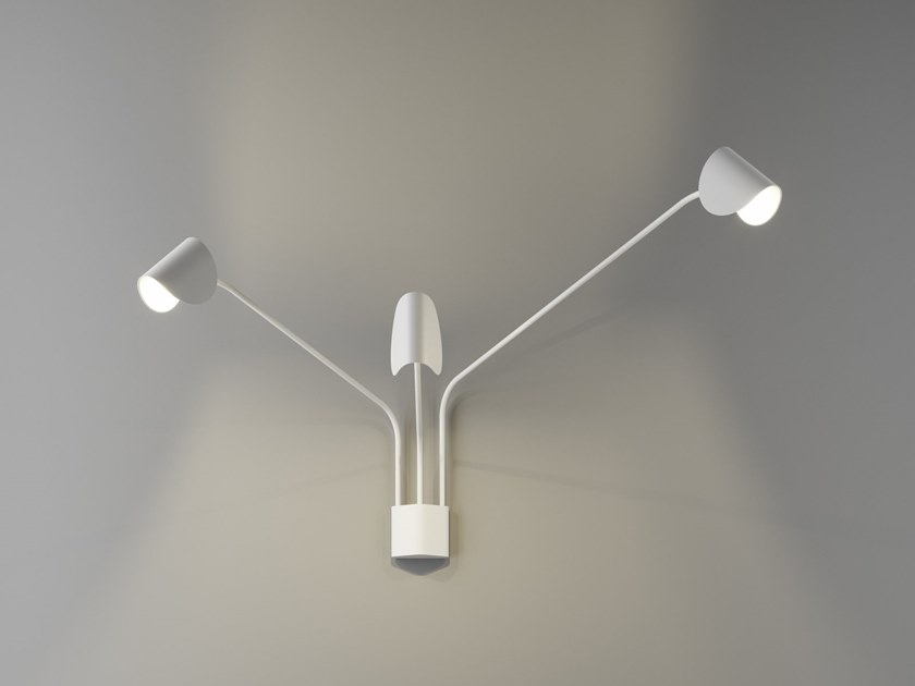 Adjustable wall lamp IO+ | Wall lamp by FontanaArte