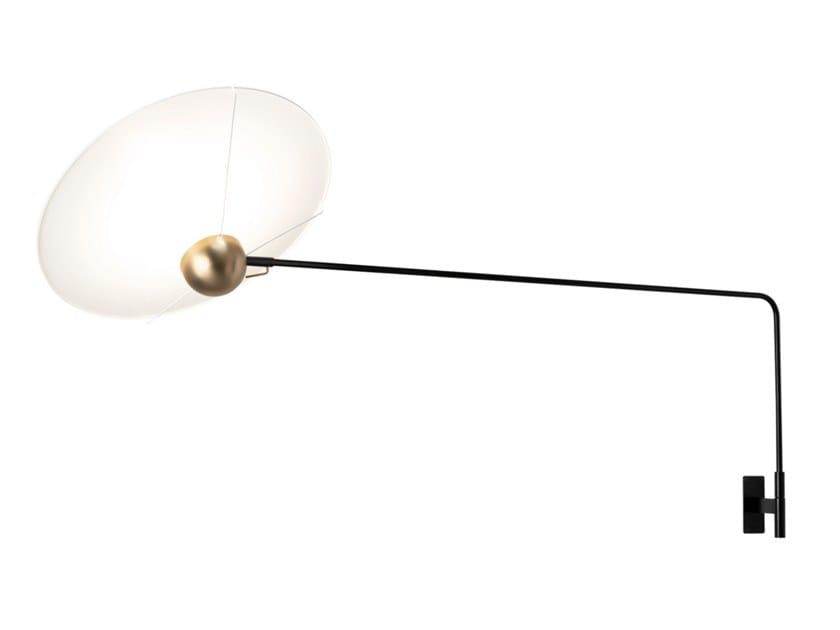LED PMMA wall lamp SATURN   Wall lamp by Inventive