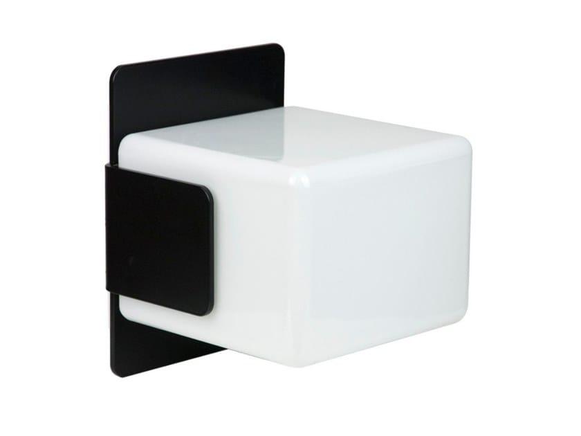CubeLampada Inventive Vetro Da Parete Led E Acciaio Applique In A EoQCrBWdxe