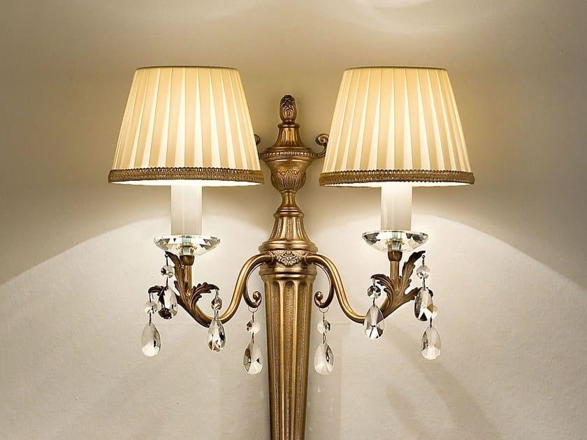 Lampada da parete a luce diretta in metallo PRIMADONNA | Lampada da parete by Masiero