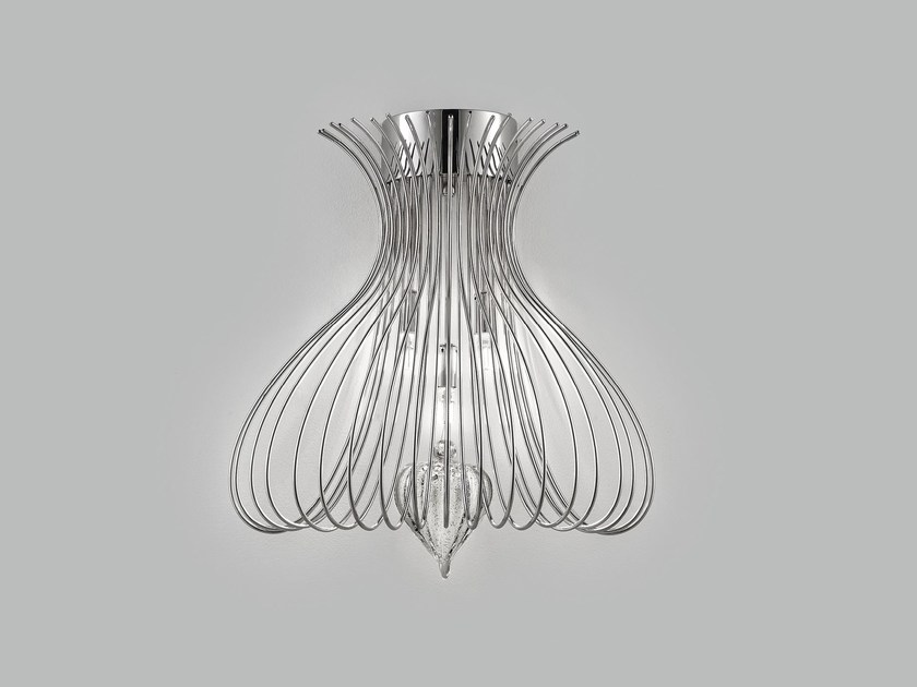 Metal wall lamp SILHOUETTE | Wall light by Metal Lux