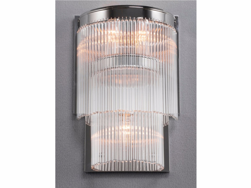 Direct light nickel wall lamp VERSAILLES | Wall lamp by Patinas Lighting