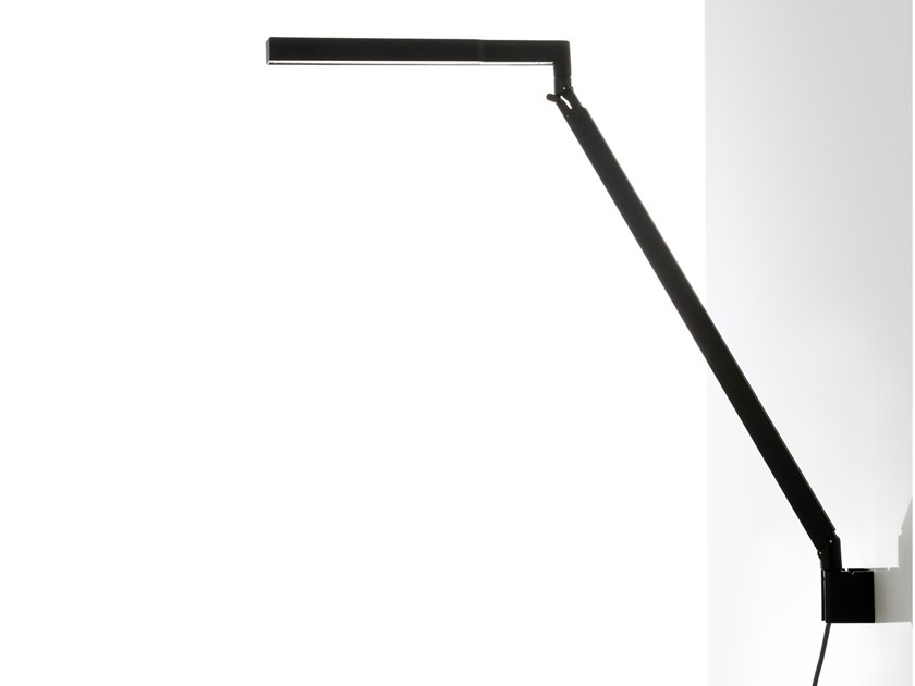 LED adjustable aluminium wall lamp BAP LED | Wall lamp by LUCEPLAN