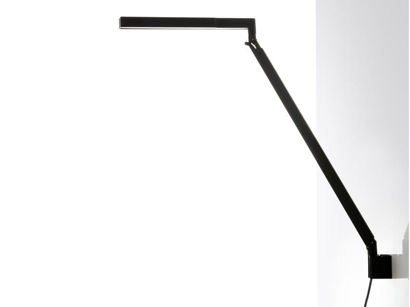 Luminária de parede LED ajustável de alumínio BAP LED | Luminária de parede by LUCEPLAN