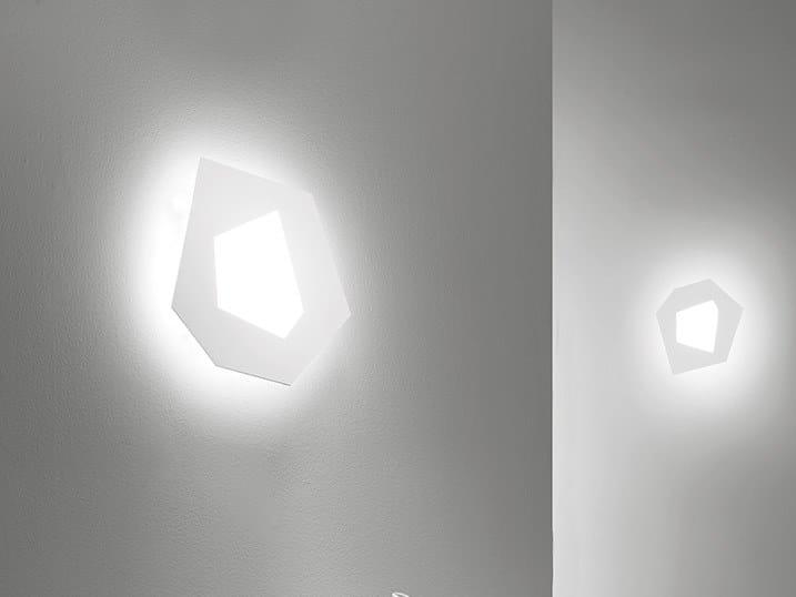 Pablo lampada da parete collezione pablo by sforzin design marco