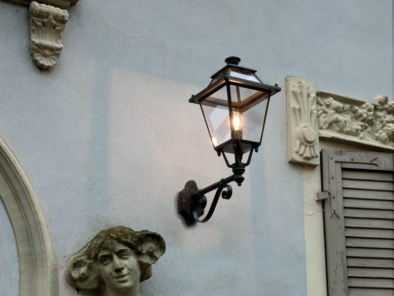 Aluminium wall lamp ELETTRA | Wall lamp by Unopiù