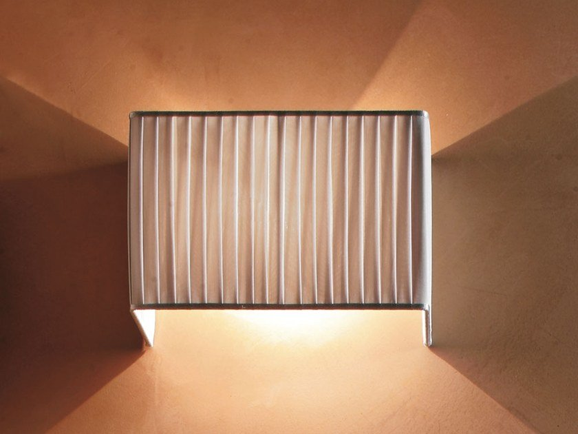 Fabric wall light PLISSÈ | Wall light by Adriani e Rossi edizioni